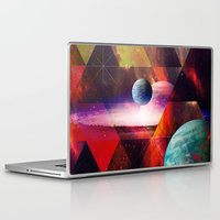 planet Laptop & iPad Skins featuring Planet by Tony Vazquez