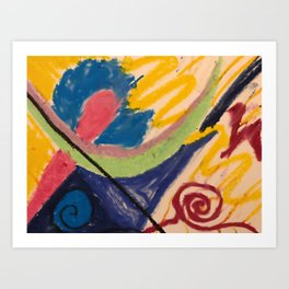 Kara - Energy Art Art Print