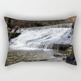 River Spodden falls Rectangular Pillow