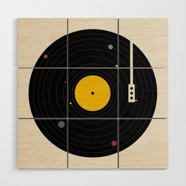 Music, Everywhere Wood Wall Art