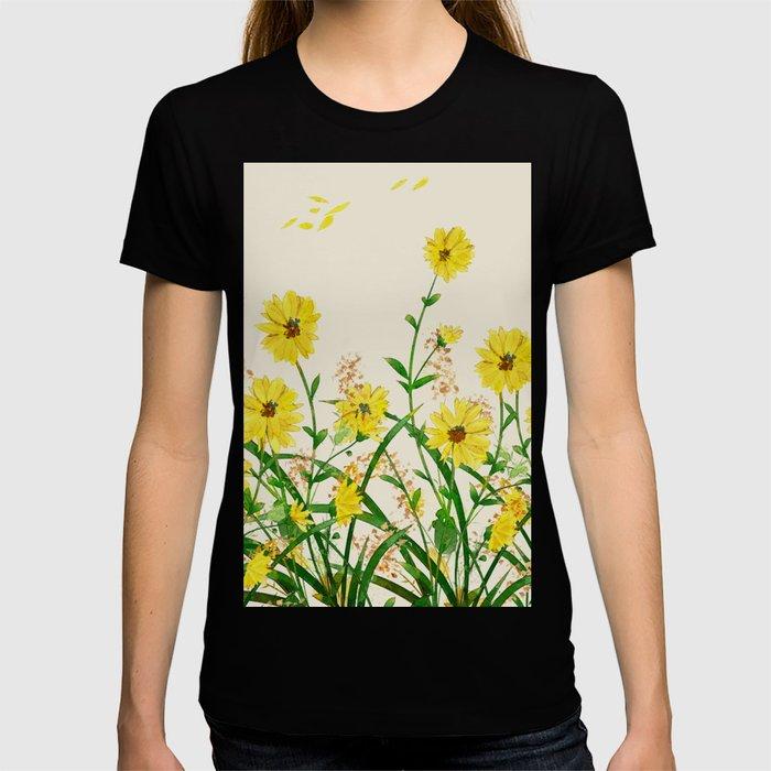 Yellow Wildflowers T-shirt
