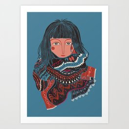 The Nomad Art Print