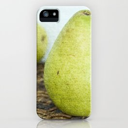 One Pair, Two Pears iPhone Case