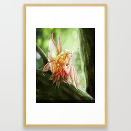 Tree Fea Framed Art Print
