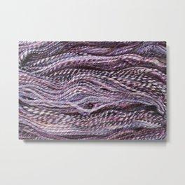 Handspun Yarn Metal Print