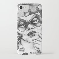harley iPhone & iPod Cases featuring Harley by Lesley Tang