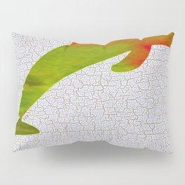 Colorful Art Dolphin Illustration Pillow Sham