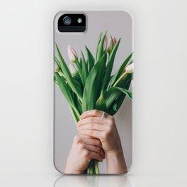 Yay Tulips! iPhone Case