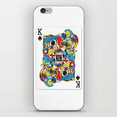 King Of Spades iPhone & iPod Skin