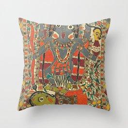 Hindu - Kali 4 Throw Pillow