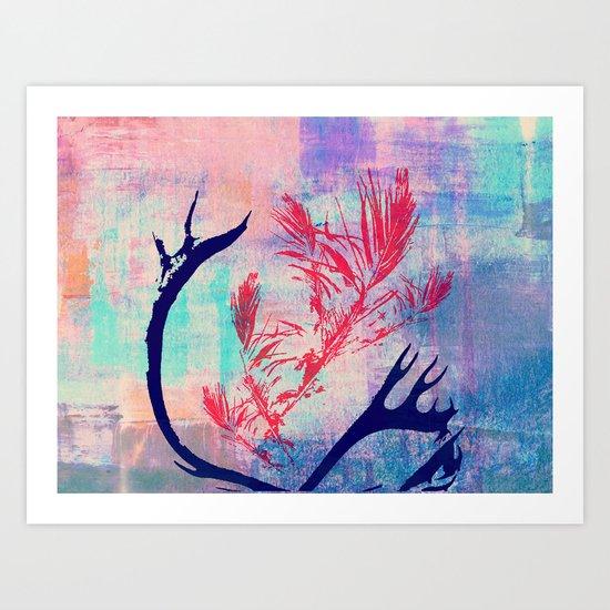 the wild II Art Print