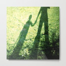 SON AND FATHER Metal Print