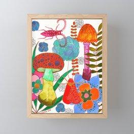 Foraging For Your Heart Framed Mini Art Print