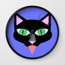 Norman Reedus's black cat Wall Clock