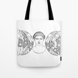 Hera Moon Tote Bag