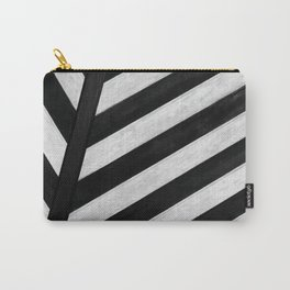 b&w stripes Carry-All Pouch