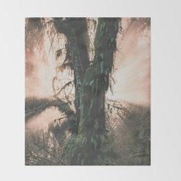 Rainforest Revelation Throw Blanket