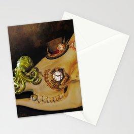 Steampunk Giraffe Stationery Cards