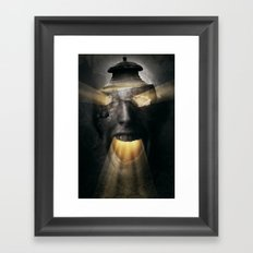 The Screaming One Framed Art Print