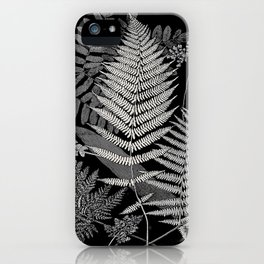 The fern paradise- a plea for the culture of ferns - Francis George Heath - 1908 Ink Black and White iPhone Case