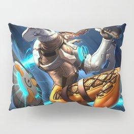 tracer over Pillow Sham