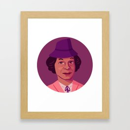 Queer Portrait - Lucy Hicks Anderson Framed Art Print