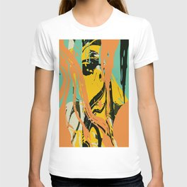 Abstract marble T-shirt