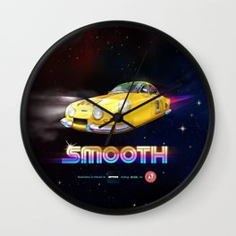 SMOOTH (Tribute to Artua) Wall Clock