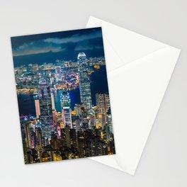 HONG KONG 10 Stationery Cards
