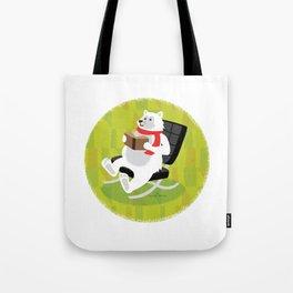 Papa Bear Barcelona Chair Tote Bag