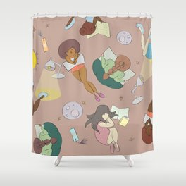 For the Love of Books Shower Curtain
