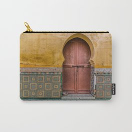 Morrocan Door and Tile Work Carry-All Pouch