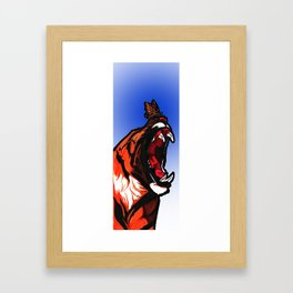 Bold Monarchy Framed Art Print