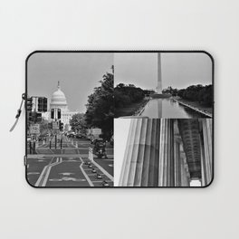 DC Collage Laptop Sleeve