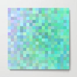 Square mosaic tiles Metal Print