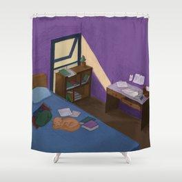 My room illustration Shower Curtain