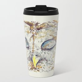 Arthur Owl Metal Travel Mug