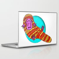 platypus Laptop & iPad Skins featuring Platypus by Ruth Wels