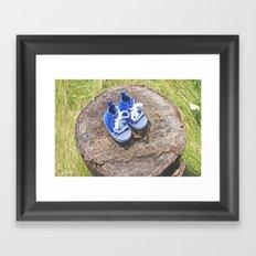 Welcome Baby Boy Framed Art Print