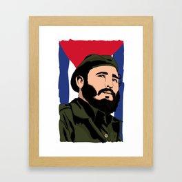 Y en eso llego Fidel Framed Art Print