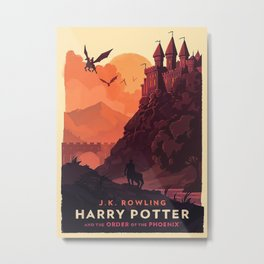 Magic Movies Metal Print