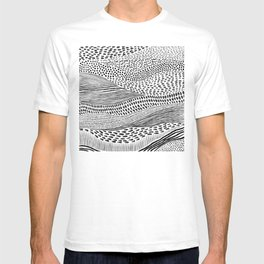 Hand Drawn Patterned Abstract II T-shirt