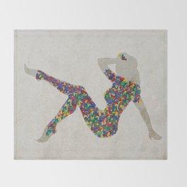 Pop Chic Throw Blanket