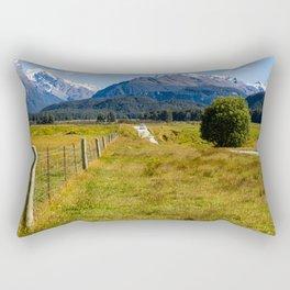Mountain Road- New Zealand Rectangular Pillow