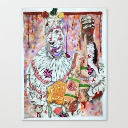 Zombie twisty Canvas Print