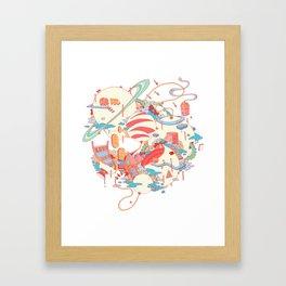 Cosmic Koinonia. Framed Art Print