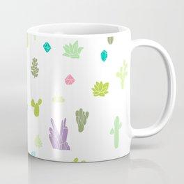 Plant Pattern Coffee Mug