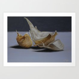 Garlic Cloves Art Print
