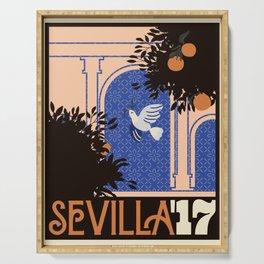 Sevilla '17 Serving Tray