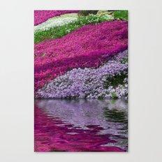 A Colorful River Canvas Print